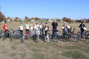 """Velomaraton în cadrul proiectului """"Merg la școală cu bicicleta"""""""